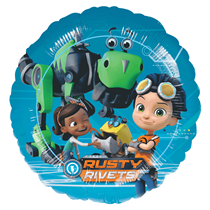 """Rusty Rivets 18"""" Foil Party Balloon"""