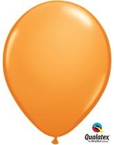 "11"" Orange Latex Balloons - 25pk"