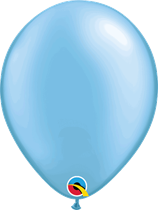 "Pearl Azure 11"" Latex Balloons 25pk"