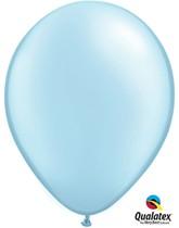 "11"" Light Blue Pearl Latex Balloons - 25pk"