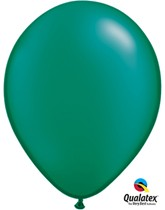 "11"" Emerald Green Pearl Latex Balloons - 25pk"