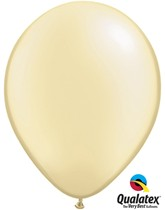 "11"" Ivory Pearl Balloons - 25pk"