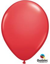 "11"" Red Latex Balloons - 25pk"
