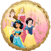 "Disney Princess 2 Sided 18"" Foil Balloon"