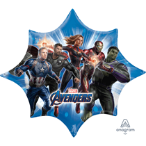 "Avengers Endgame 35"" Supershape Foil Balloon"