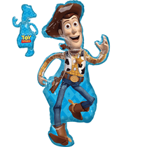 """Disney Toy Story Woody Supershape 44"""" Foil Balloon"""