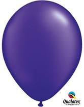 "11"" Quartz Purple Pearl Latex Balloons - 25pk"