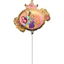 Disney Princess Mini Shape Foil Balloon (air fill)