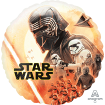 "Star Wars Episode 9 18"" Foil Balloon"