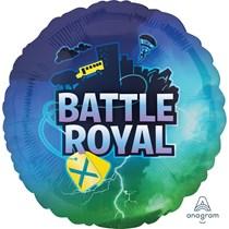 """Battle Royale 18"""" Foil Balloon Fortnite Party Decoration"""