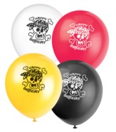 "8 Pirate Fun 12"" Latex Balloons"