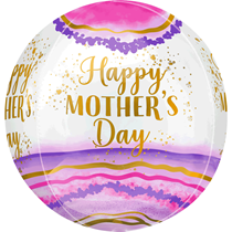 Mother's Day Watercolour Orbz Foil Balloon