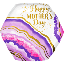 """Mother's Day Watercolour 23"""" SuperShape Foil Balloon"""