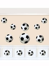 Football Cut Out Decorations 12pk