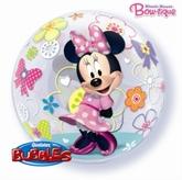 "Minnie Mouse Bow-Tique 22"" Bubble Balloon"
