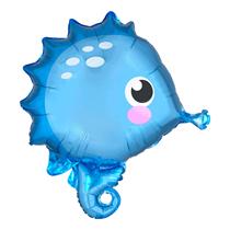"""Cute Seahorse 19"""" Standard Foil Balloon"""