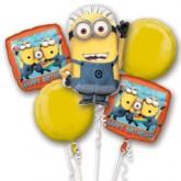 Despicable Me Minion Balloon Bouquet