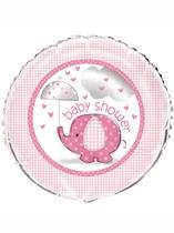 """Umbrellaphants Pink 18"""" Foil Balloon"""