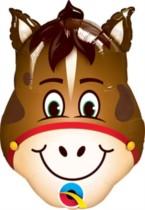 "Hilarious Horse Foil Balloon 14"""