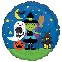 "Halloween Crew 18"" Foil Balloon"
