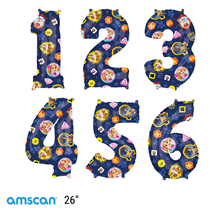 """Paw Patrol 26"""" Foil Number Balloons"""