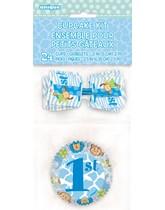 1st Birthday Safari Cupcake Kit