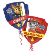 Paw Patrol Double-Sided SuperShape Foil Balloon 27""