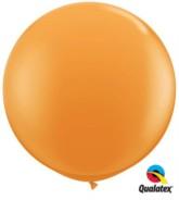 Orange Round 3ft Latex Balloons 2pk