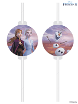 Disney Frozen 2 Party Drinking Paper Straw