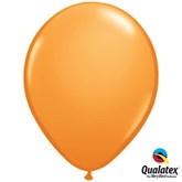 "Orange 11"" Latex Balloons 6pk"