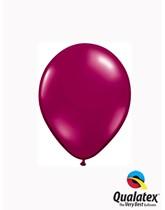 "5"" Sparkling Burgundy Latex Balloons 100pk"