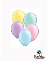 "5"" Pastel Pearl Asst'd Latex Balloons 100pk"