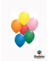 """5"""" Asst'd Colour Latex Balloons 100pk"""