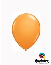 "5"" Orange Latex Balloons 100pk"