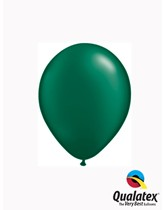 """5"""" Pearl Forest Green Latex Balloons 100pk"""