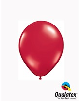 "5"" Ruby Red Latex Balloons 100pk"