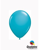 "5"" Tropical Teal Latex Balloons 100pk"