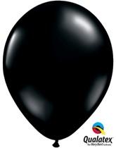 """11"""" Onyx Black Latex Balloons 100pk"""