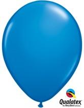 "11"" Dark Blue Latex Balloons 100pk"