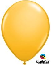 """11"""" Goldenrod Latex Balloons 100pk"""