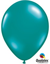 "11"" Jewel Teal Latex Balloons 100pk"