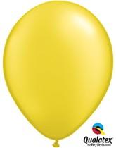 "11"" Pearl Citrine Yellow Latex Balloons 100pk"