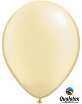"11"" Pearl Ivory Latex Balloons 100pk"