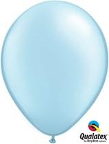 Qualatex pearl light blue 16 inch latex balloons 50 pack