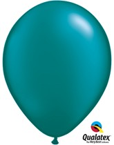 "11"" Pearl Teal Latex Balloons 100pk"