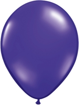 "11"" Quartz Purple Latex Balloons 100pk"