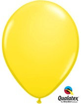 "11"" Yellow Latex Balloons 100pk"