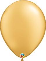 "Gold 16"" Round Latex Balloons 50pk"