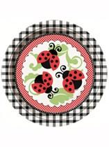 Ladybird Paper Plates 8pk