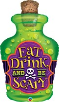 "Halloween Potion Eat Drink Be Scary 40"" Foil Balloon"